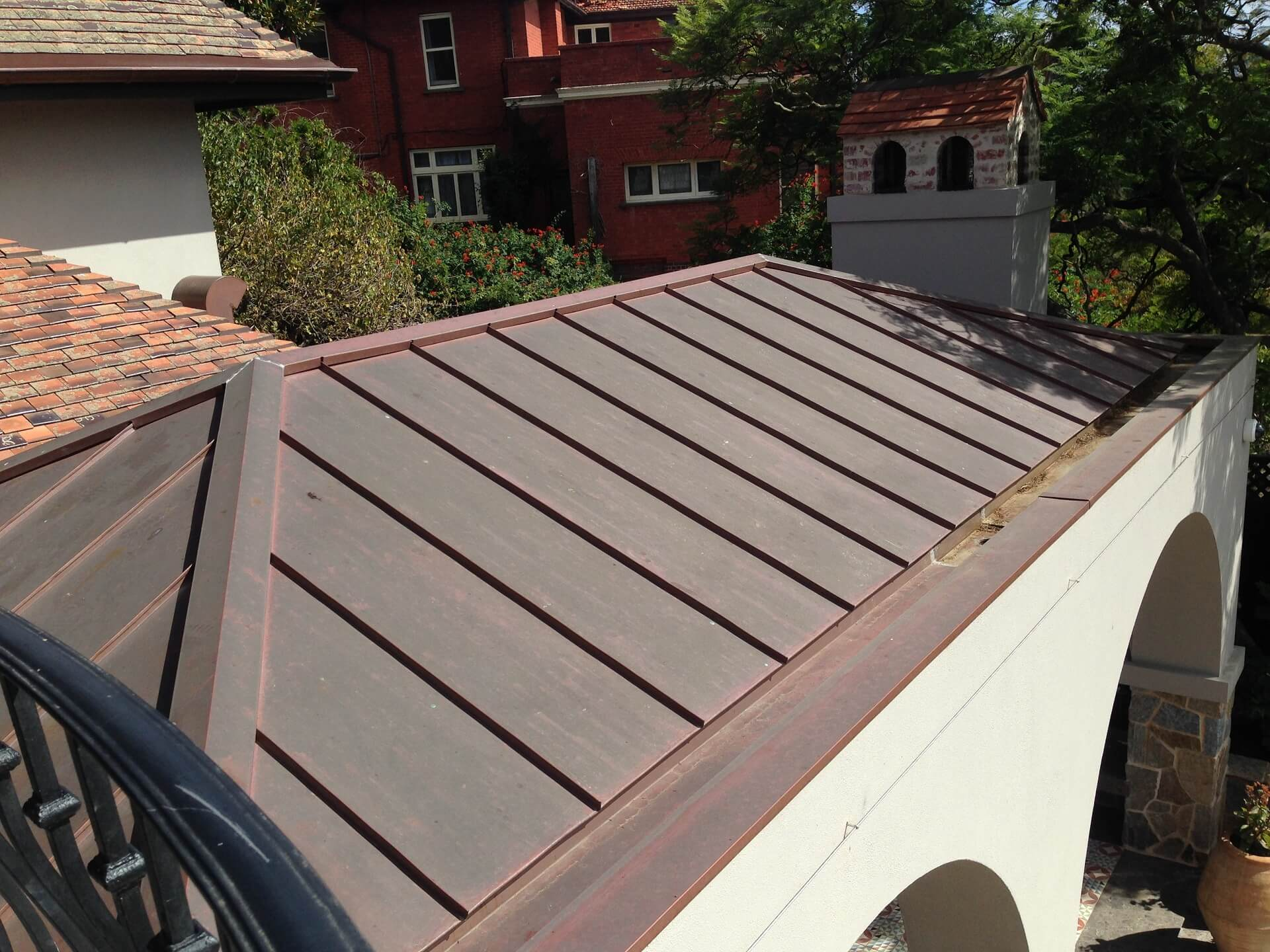 Cladding systems concept cladding melbourne 0452432077 for Standing seam copper